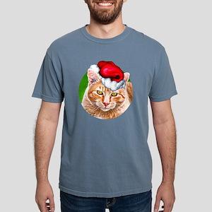 MeowyChristmasCircle Mens Comfort Colors Shirt