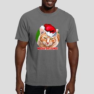 MeowyChristmasCircleWord Mens Comfort Colors Shirt