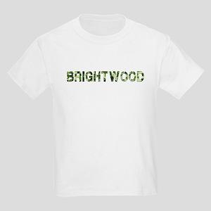 Brightwood, Vintage Camo, Kids Light T-Shirt