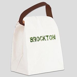 Brockton, Vintage Camo, Canvas Lunch Bag