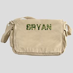 Bryan, Vintage Camo, Messenger Bag