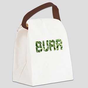 Burr, Vintage Camo, Canvas Lunch Bag