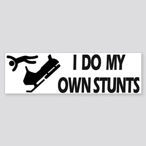 Snowmobile, Snowmobile Stunts Bumper Sticker