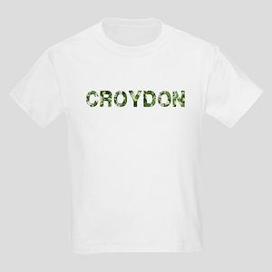 Croydon, Vintage Camo, Kids Light T-Shirt
