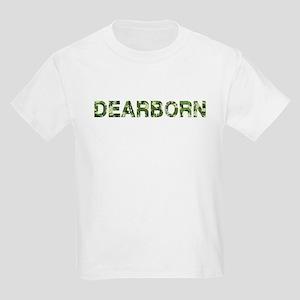 Dearborn, Vintage Camo, Kids Light T-Shirt