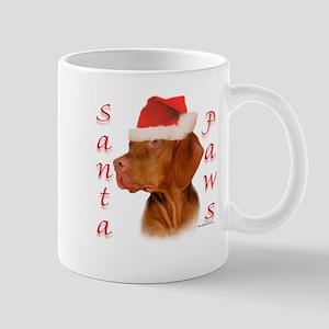 Santa Paws Vizsla Mug