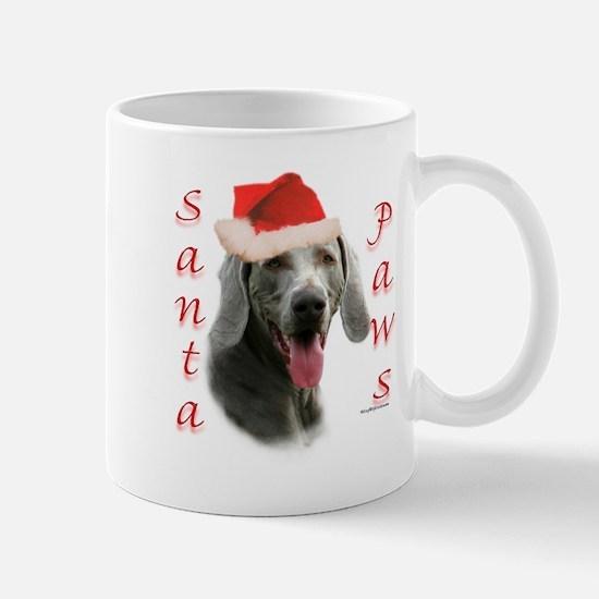 Santa Paws Weimaraner Mug