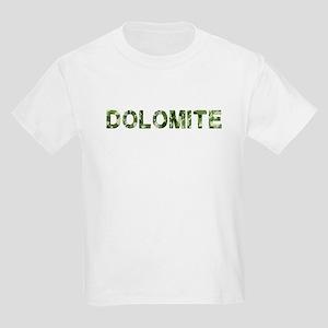 Dolomite, Vintage Camo, Kids Light T-Shirt