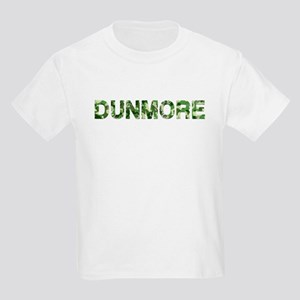 Dunmore, Vintage Camo, Kids Light T-Shirt