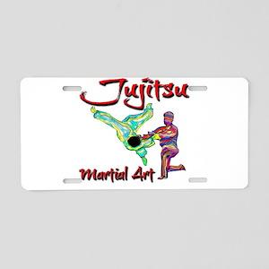 Jujitsu Aluminum License Plate