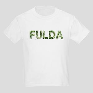 Fulda, Vintage Camo, Kids Light T-Shirt
