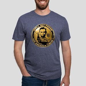 Abraham_Lincoln-2009 Mens Tri-blend T-Shirt