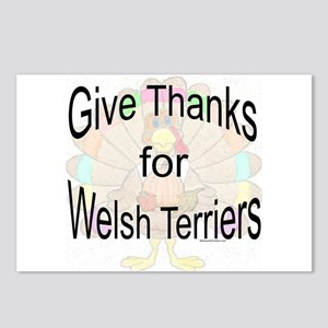 Thanks for Welsh Terrier Postcards (Package of 8)