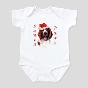 Santa Paws Welsh Springer Infant Bodysuit