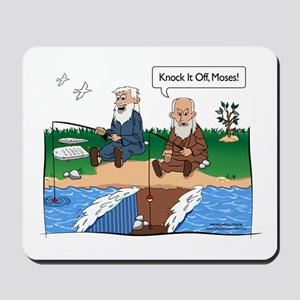 Fishing With Moses Mousepad
