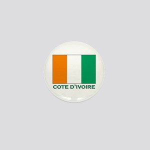 Cote D'Ivoire Flag Gear Mini Button