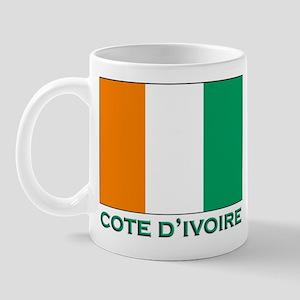 Cote D'Ivoire Flag Gear Mug
