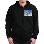 Winter Wizard Zip Hoodie (dark)