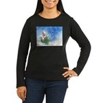 Winter Wizard Women's Long Sleeve Dark T-Shirt