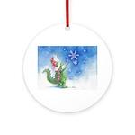 Winter Wizard Ornament (Round)