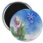 Winter Wizard Magnet