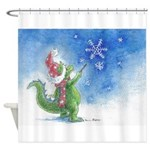 Winter Wizard Shower Curtain