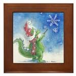 Winter Wizard Framed Tile