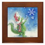 Winter Wizard Framed Tile