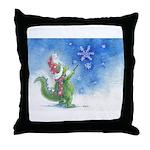Winter Wizard Throw Pillow