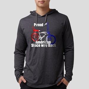 Proud American Mens Hooded Shirt