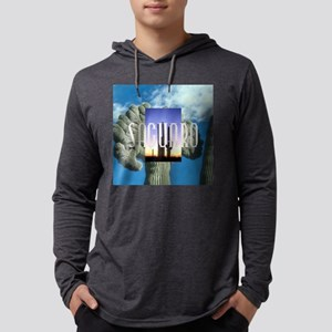 saguarosq Mens Hooded Shirt