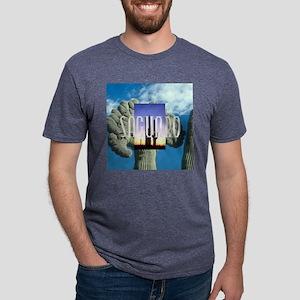 saguarosq Mens Tri-blend T-Shirt