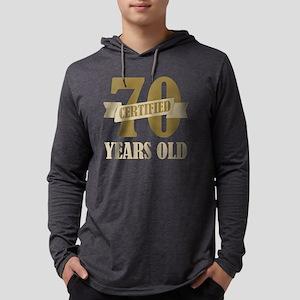 Certified70 Mens Hooded Shirt