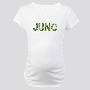 Juno, Vintage Camo, Maternity T-Shirt