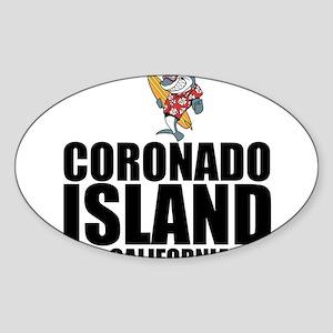 Coronado Island, California Sticker