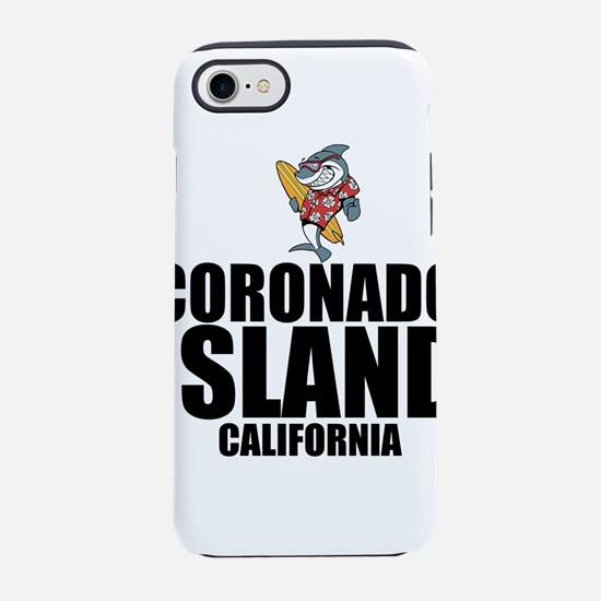 Coronado Island, California iPhone 7 Tough Case
