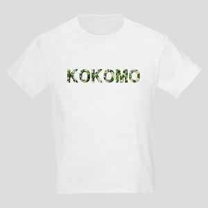 Kokomo, Vintage Camo, Kids Light T-Shirt