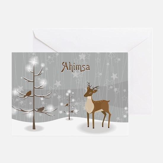 Ahimsa Holiday Greeting Card