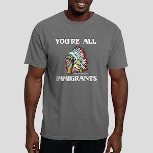 Immigrants (Dark) Mens Comfort Colors Shirt