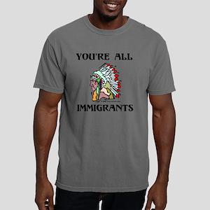 Immigrants (Light) Mens Comfort Colors Shirt