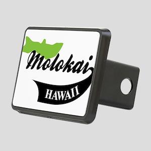 Molokai Hawaii Rectangular Hitch Cover