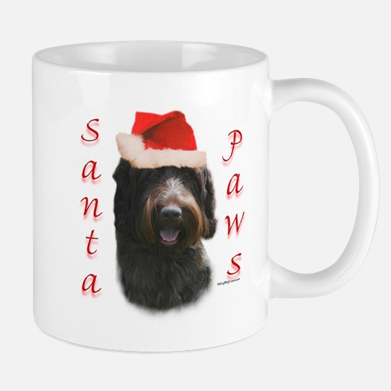 Santa Paws Wirehaired Mug