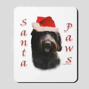 Santa Paws Wirehaired Mousepad