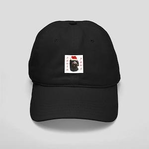 Santa Paws Wirehaired Black Cap