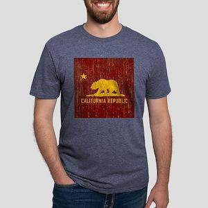 VintageCalifornia Mens Tri-blend T-Shirt