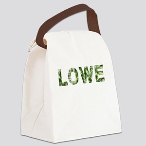 Lowe, Vintage Camo, Canvas Lunch Bag