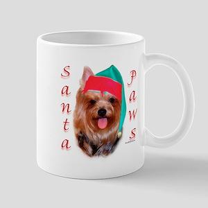 Santa Paws Yorkie Mug