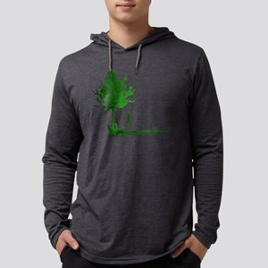 growwithme Mens Hooded Shirt