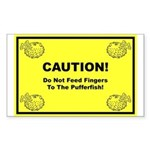 The Puffer Forum Rectangle Sticker