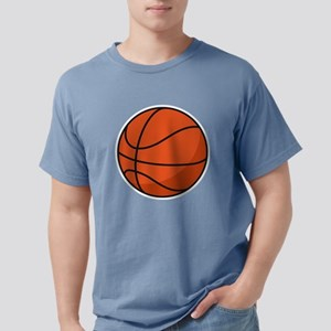 Basketball Maternity Mens Comfort Colors Shirt